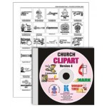 UPGRADE to Church Clipart, Version 4