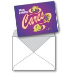 Notecard: Your Church Cares (Floral)