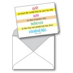 Notecard: John 3:16 God So Loved