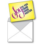 Notecard: Joy To You From Your Pastor